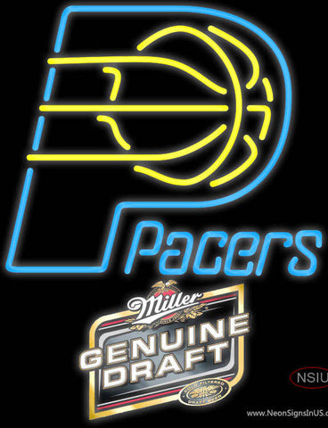 MGD Indiana Pacers NBA Neon Sign