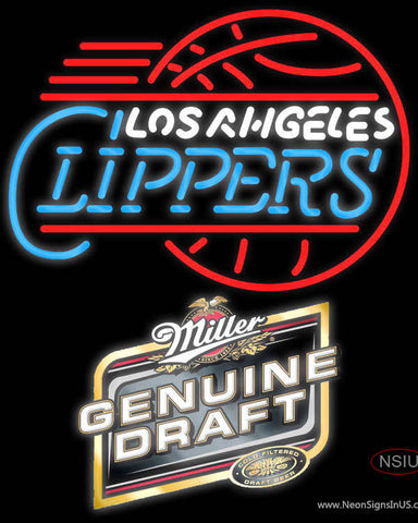 Mgd Los Angeles Clippers NBA Neon Sign