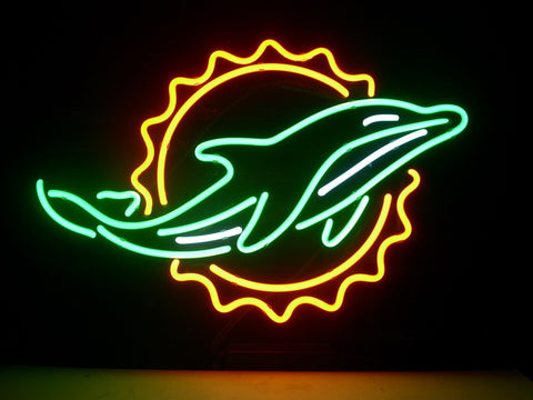 Miami Dolphins Neon Sign