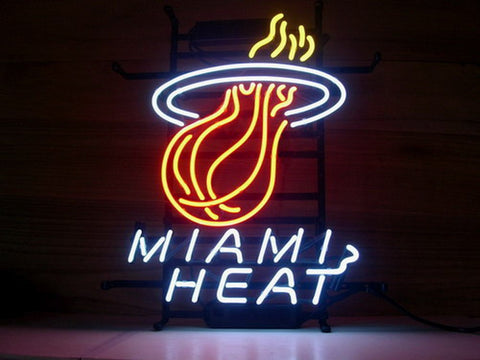 Miami Heat Neon Sign