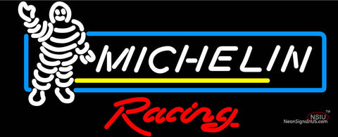 Michelin Racing Michelin Man Tires Neon Sign