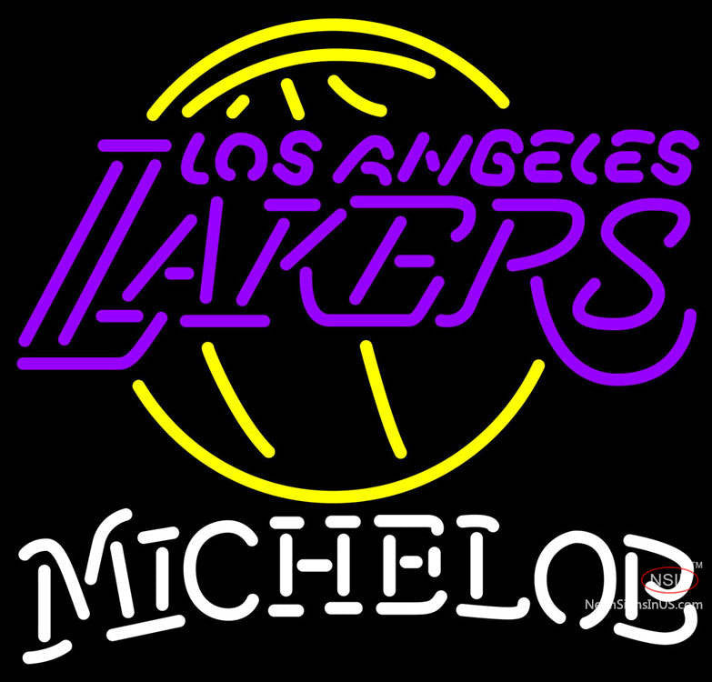 Michelob Los Angeles Lakers NBA Neon Sign – Bro Neon Sign