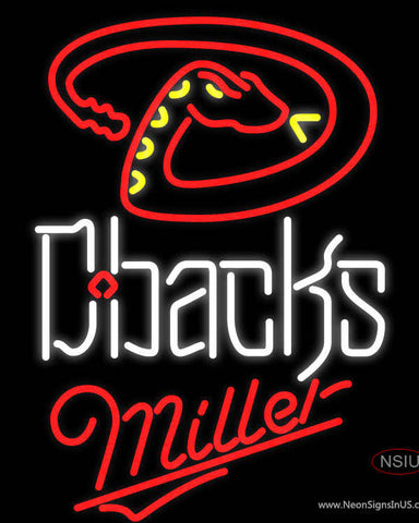 Miller Arizona Diamondbacks MLB Neon Sign
