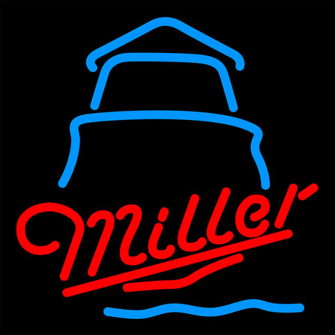Miller Day Lighthouse Neon Sign 16x16