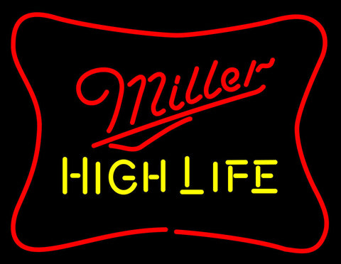 Miller High Life Neon Beer Sign 1