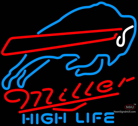 Miller High Life Neon Buffalo Bills NFL Neon Sign  7