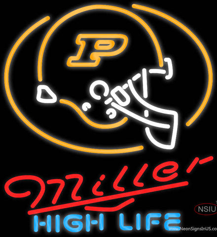 Miller High Life Purdue University Calumet Neon Sign