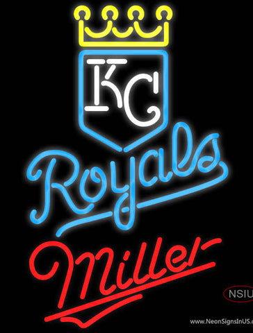 Miller Kansas City Royals MLB Neon Signs