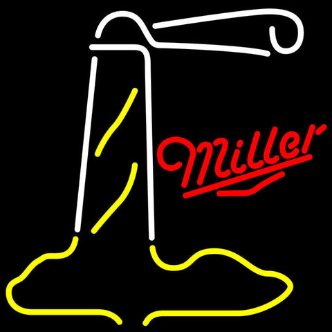 Miller Lighthouse Neon Sign 24x24