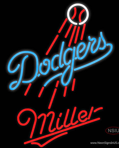 Miller Los Angeles Dodgers MLB Neon Sign