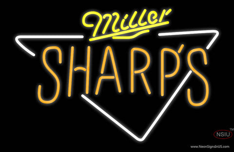 Miller Sharps Neon Beer Sign