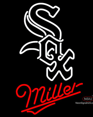 Miller Neon Sign - Chicago White Sox