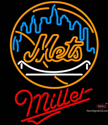 Miller New York Mets MLB Neon Sign