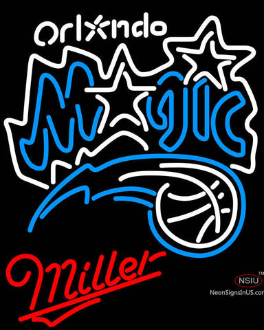Miller Orlando Magic NBA Neon Sign