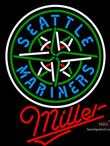 Miller Seattle Mariners MLB Neon Sign