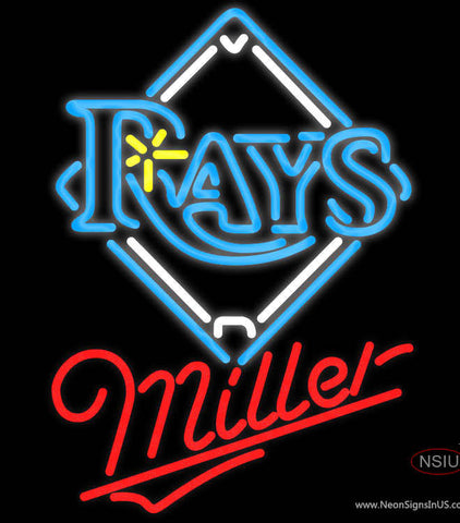 Miller Tampa Bay Rays MLB Neon Sign