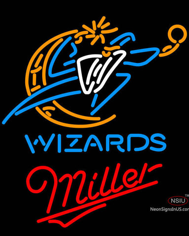 Miller Washington Wizards NBA Neon Sign