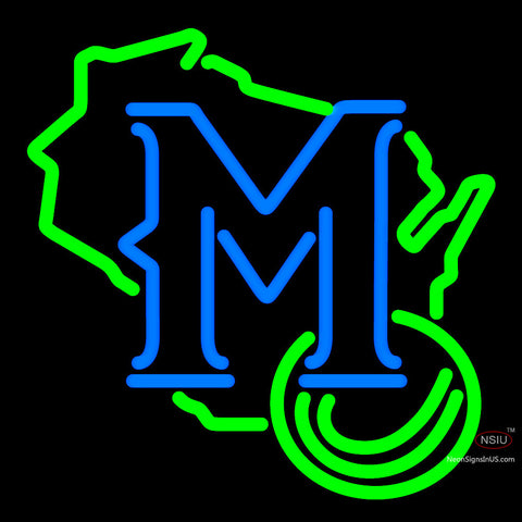 Milwaukee Brewers Secondary 7 Logo MLB  Neon Sign x