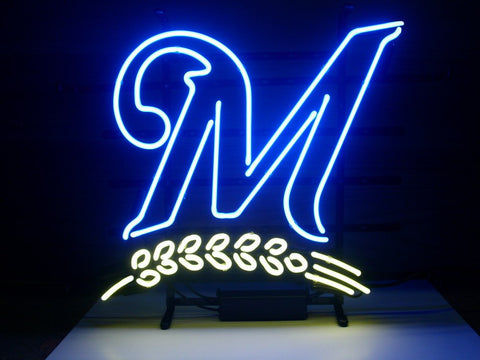 Milwaukee Brewers Neon Sign 4