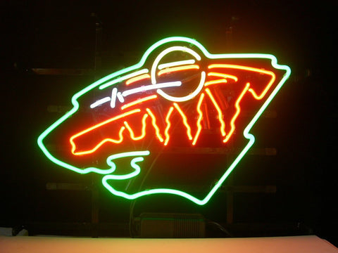 Minnesota Wild Neon Sign