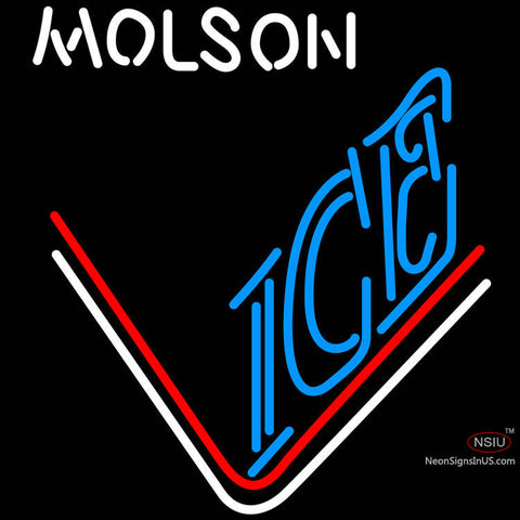 Molson Ice Hockey Neon Beer Sign x