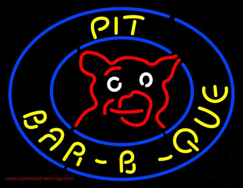 Pit BBQ Neon Sign