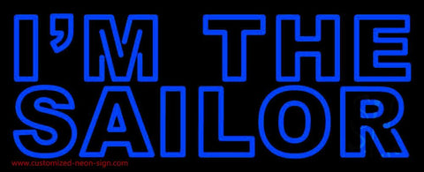 I Am The Sailor Handmade Art Neon Sign