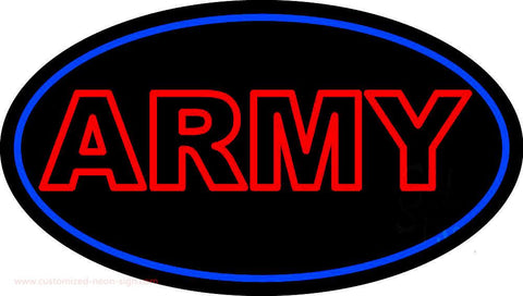 Red Army Handmade Art Neon Sign
