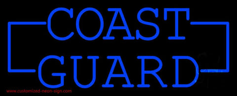 Coast Guard Handmade Art Neon Sign