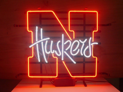 Nebraska Huskers Neon Sign