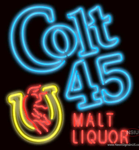 Colt  Malt Liquor Neon Sign