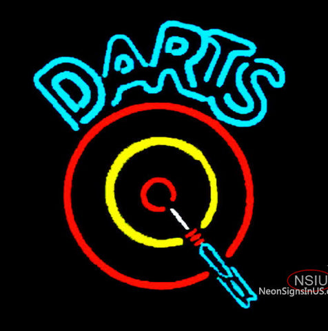 Darts Room Neon Sign