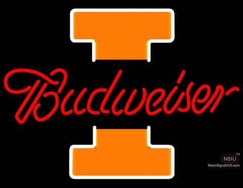 Nice Fighting Illini Illinois Budweiser Neon Sign