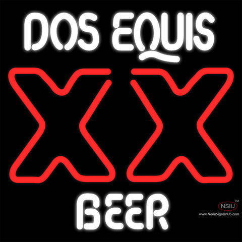 DOS Equis Beer Neon Sign
