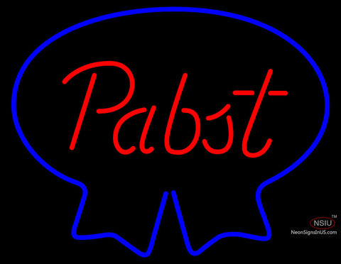 Pabst Blue Ribbon Neon Beer Sign