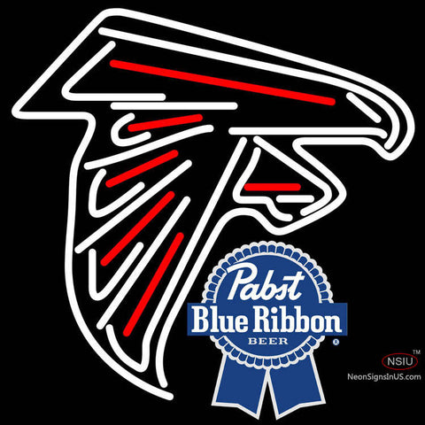 Pabst Blue Ribbon Atlanta Falcons NFL Neon Sign