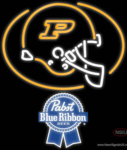 Pabst Blue Ribbon Purdue University Calumet Neon Sign