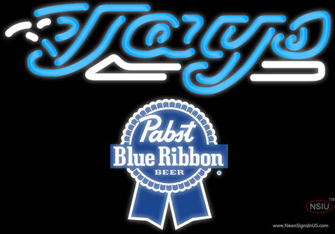 Pabst Blue Ribbon Toronto Blue Jays MLB Neon Sign