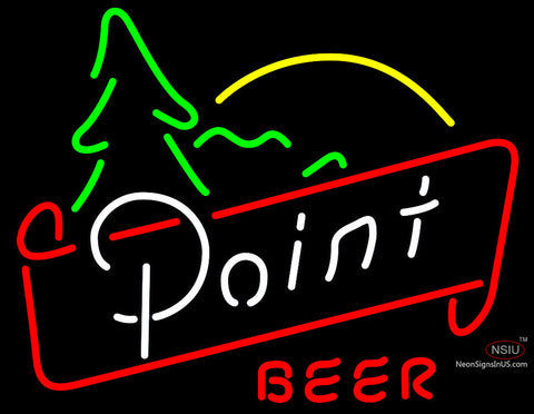 Point Great Outdoors Neon Beer Sign