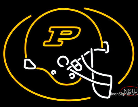 Purdue University Boilermakers Helmet Neon Sign