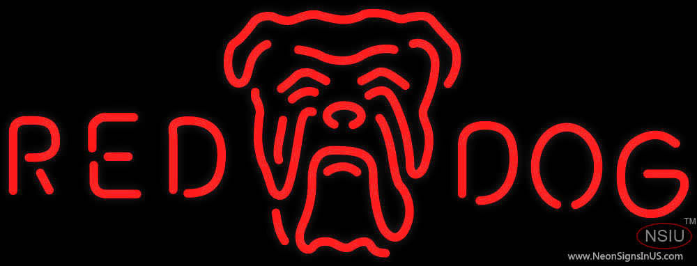 Red Dog Sign