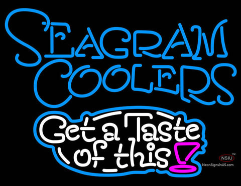 Seagram Test Of This Neon Wine Coolers Sign