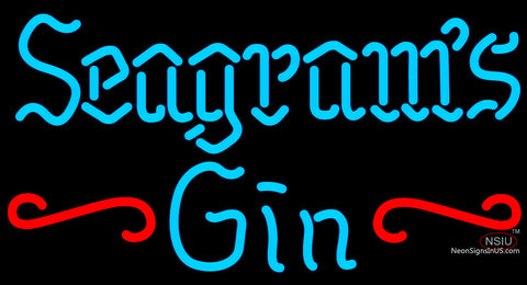 Seagrams 7 Promotional Neon Gin Sign