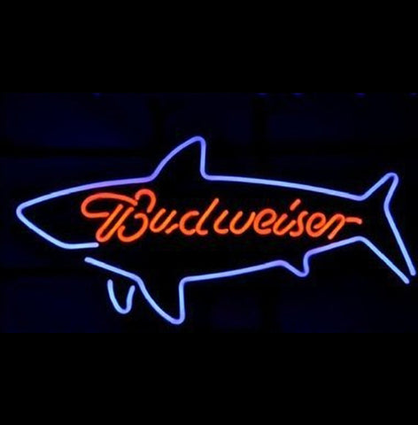 Shark Budweiser Neon Light Sign