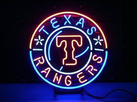 Texas Rangers Neon Sign