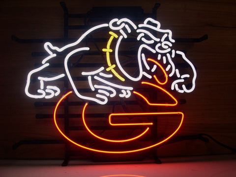 University Of Georgia Bulldogs Uga Neon Sign