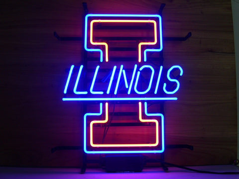 University Of Illinois Neon Sign