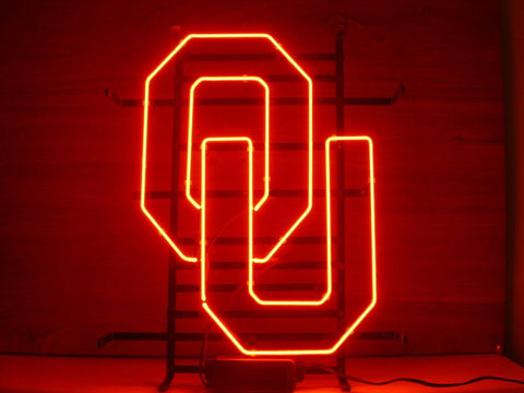 University Of Oklahoma Neon Sign