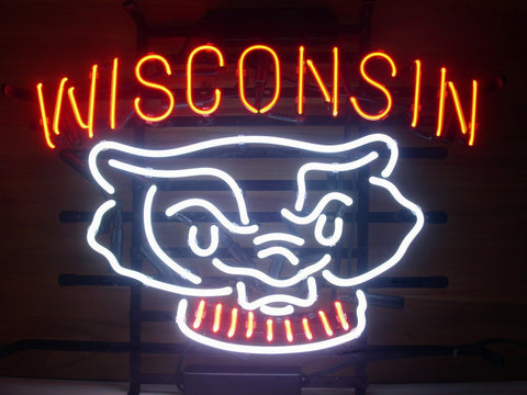 Wisconsin Badgers Neon Sign