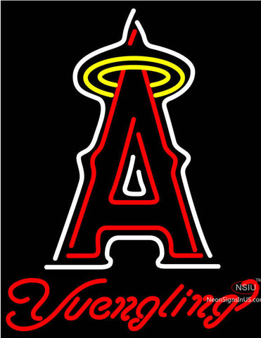 Yuengling Los Angeles Angels Of Anaheim MLB Beer Neon Sign